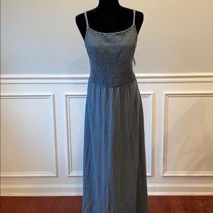 NWT💜Adorable 100% Cotton Blue-gray Maxi